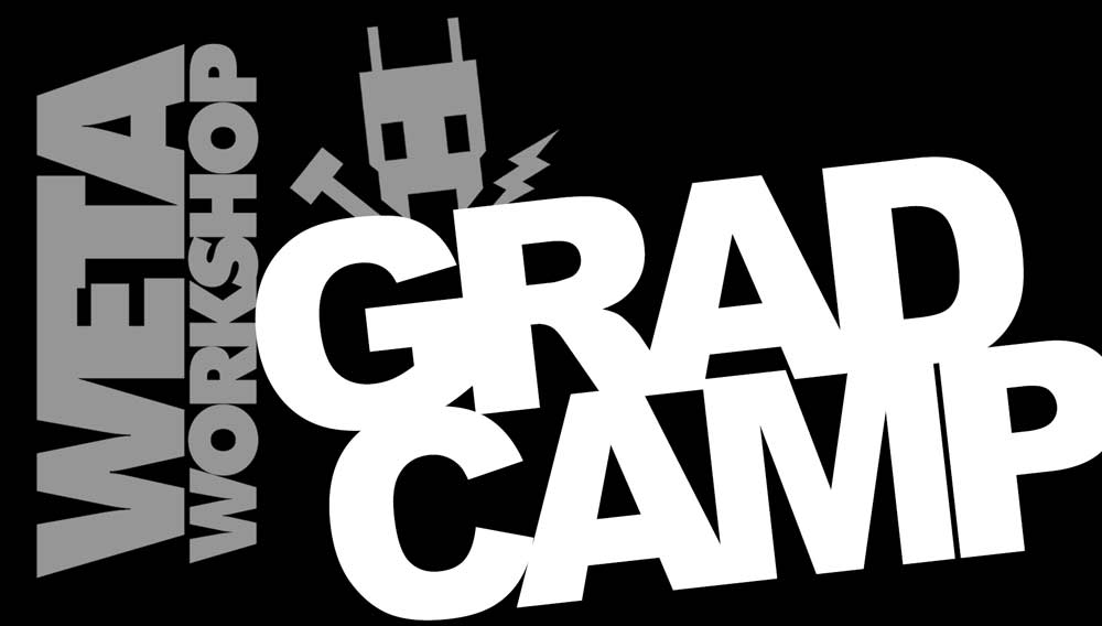 Weta Workshop Grad Camp graphic